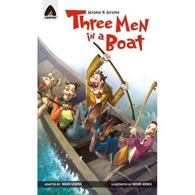 Three Men in a Boat - Paperback NEW Nidhi Verma 2011-09-20