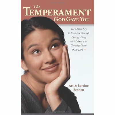 The Temperament God Gave You: The Classic Key to Knowin - Paperback NEW Bennett,