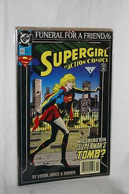 D C Comics Justice League America #686 Feb 93 Funeral for a Friend / 6 Sleeved