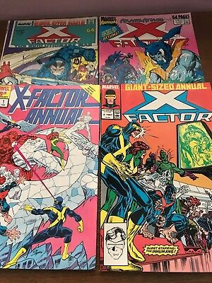 Marvel X-Factor Annual 1 to 4