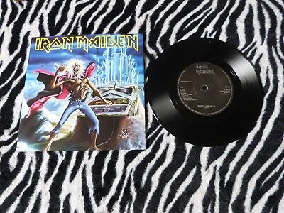 "Iron Maiden - Run To The Hills (Parlophone) (Heavy Metal) 7""Single"