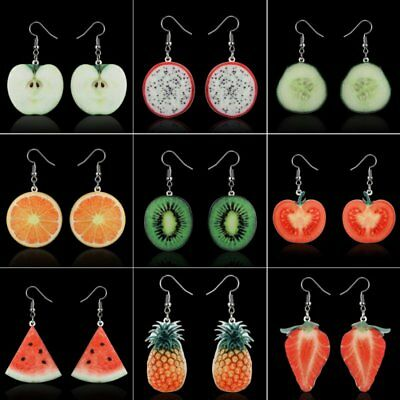 Fashion Delicious Fruit Dangle Earrings Hook Women Jewelry Mother's Day Gift New