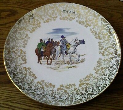 Beautiful Napoleon Bonaparte Collector Plate PMR Bavaria Germany HunterThomas