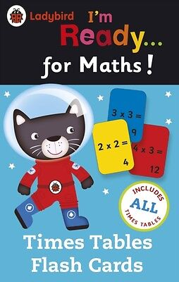 Ladybird I'm Ready for Maths: Times Tables flash cards (Cards), 9780723295655