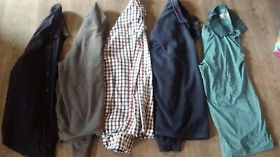 mens tops shirts fleece tops bundle size XL marks and spencer