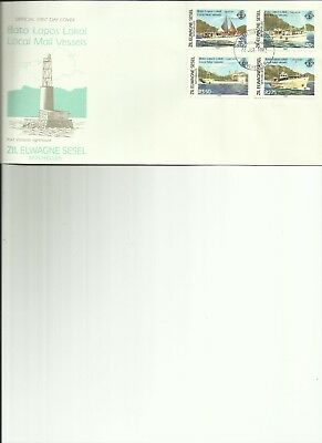 Seychelles - Local Mail Vessels - Fdc