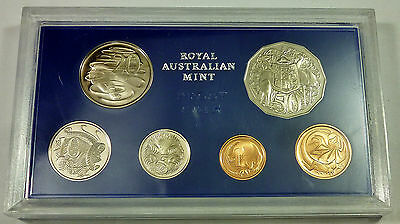 1975 Royal Australian Mint Australia 6 Coin Proof Set Elizebeth II