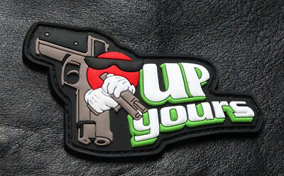 Up Yours Gun Tactical Morale Hook Patch (3D-PVC Rubber)