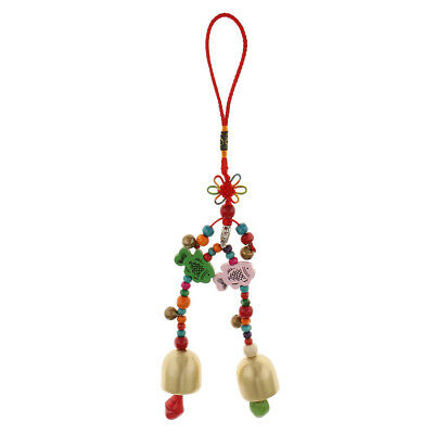 Removable Wind Chime Pendant Chinese Knot Handmade Crafts Garden Décor