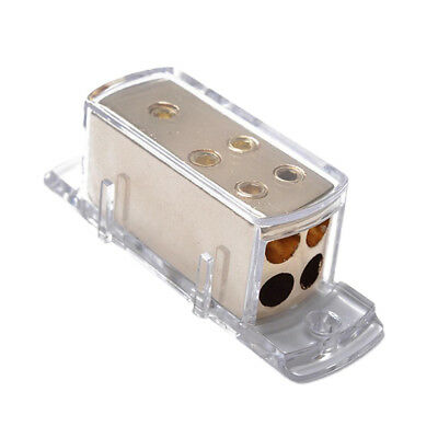 0-4-8 GAUGE POWER Wire Cable DISTRIBUTION BLOCK Splitter Car Audio ...