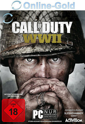 Call of Duty WW2 - PC Standard Game Key - Steam Code - COD 14 World War 2 [DE]