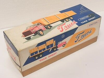 China MF784 take apart truck friction tin toy 1960s MIB unusued giocattolo latta