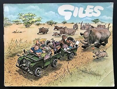 GILES ANNUAL - 22nd SERIES (Paperback, 1968) Unclipped, Cartoon Collection