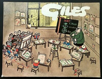 GILES ANNUAL - 23rd SERIES (Paperback, 1969) Unclipped, Cartoon Collection