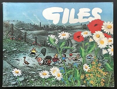 GILES ANNUAL - 25th SERIES (Paperback, 1971) Unclipped, Cartoon Collection