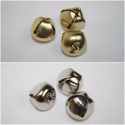 3 x Trimits Jingle Bells x 20mm Gold or Silver Christmas Card Crafts