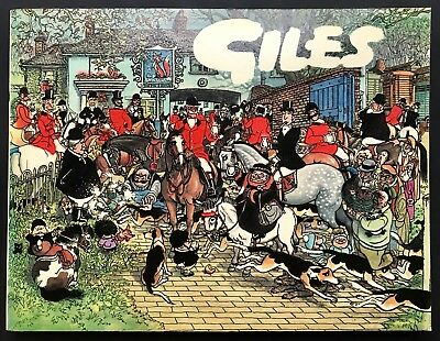 GILES ANNUAL - 35th SERIES (Paperback, 1981) Cartoon Collection, Unclipped