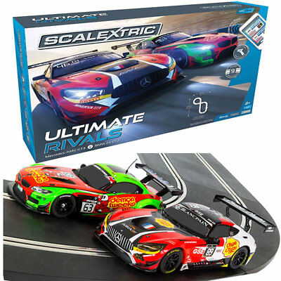 SCALEXTRIC Set C1356 ARC One Ultimate Rivals Set - Mercedes AMG GT3 / BMW Z4 GT3