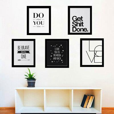 Letters Canvas No Framed Art Printed Painting Wall Pictures Poster Home Decor