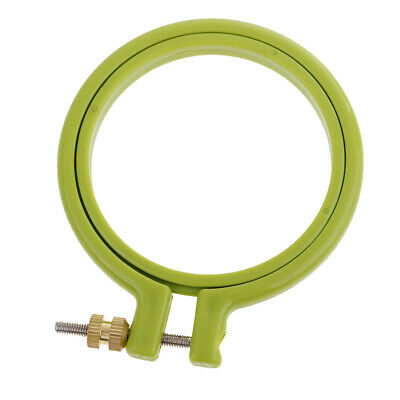 Adjustable Sewing Tools Plastic Embroidery Cross Stitch Hoop Ring Frame 3-10inch