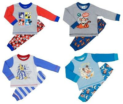 Baby Boys Pyjamas Two Piece Tigger Winnie The Pooh Mickey Mouse 6-9-to 24 months