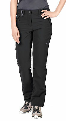 Jack Wolfskin Damen Wander - Outdoor- Hose ACTIVATE XT PANTS WOMEN schwarz