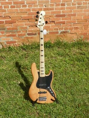 Fender Squier Vintage Modified Jazz V Bass 70s Five 5 String Electric Bass #8921