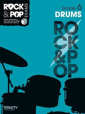 Trinity Rock & Pop Exams: Drums Grade 6 (With Free Audio CD) (She. 9780857362513