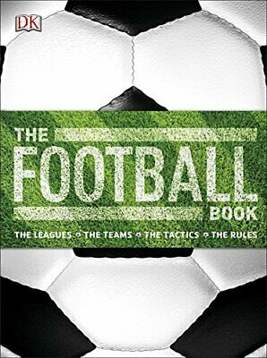 The Football Book (Dk) by DK Book The Cheap Fast Free Post