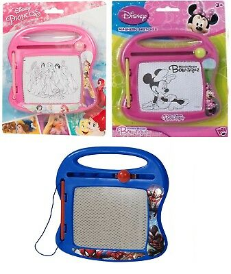 Disney Marvel Magnetic Sketcher Sketch Drawing Board Magic Writer Toy Gift