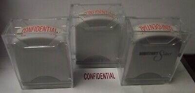 "Global AGI-SS02045 Rectangle Stock Pre-Inked Rubber Stamp With ""Confidential"" 3p"