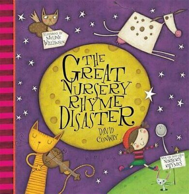 The Great Nursery Rhyme Disaster by Conway, David Paperback Book The Fast Free