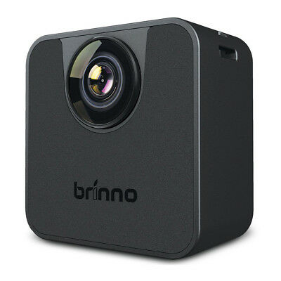 Brinno TLC120 HDR Bluetooth IPX4 Rated 20 Day Time Lapse Video Camera, Black