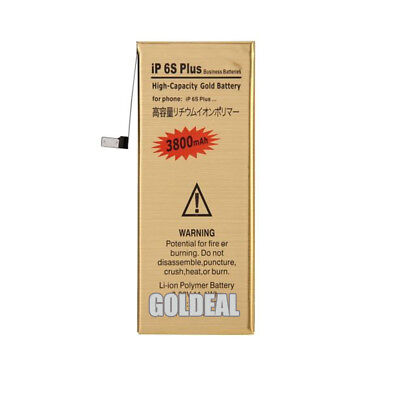 NEW High Capacity 3800mAh Replacement Gold Battery for Apple iPhone 6S Plus