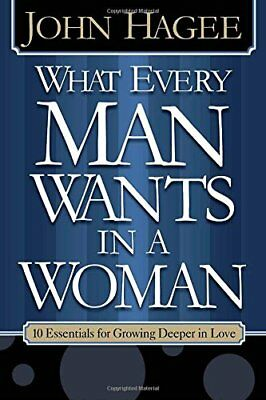 WHAT EVERY MAN WOMAN WANTS by HAGEE JOHN & DIANA Paperback Book The Cheap Fast