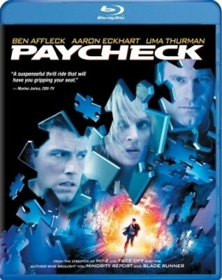 Paycheck [New Blu-ray] Ac-3/Dolby Digital, Dolby, Dubbed, Subtitled, Widescree