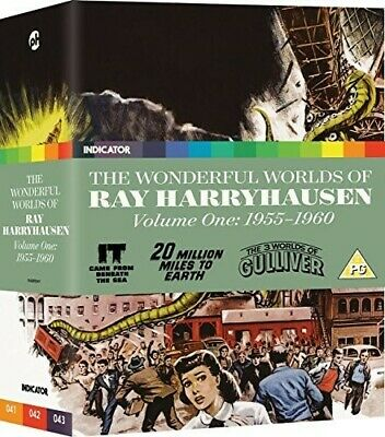 The Wonderful Worlds of Ray Harryhausen: Voume One: 1955-1960 [New Blu-ray] Lt