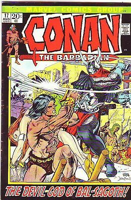 Conan 17 The Barbarian strict VF+ High-Grade tons of Barry Smith Issues up