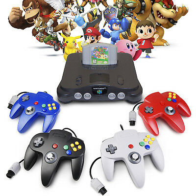 NEW Long Controller Game System for Nintendo 64 N64 Black/Gray/Blue/Red US Ship