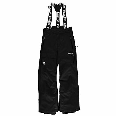 Nevica Kids Boys Vail Ski Pants Junior Salopettes Trousers Bottoms Waterproof
