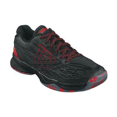 Wilson Kaos Men Clay Court  black-black-wilson red