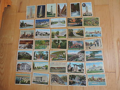 Vintage Postcard Lot Monuments Buildings & More (cp244)