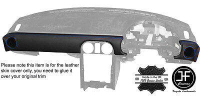 blue stitch dash trim leather cover fits iso rivolta fidia. Black Bedroom Furniture Sets. Home Design Ideas