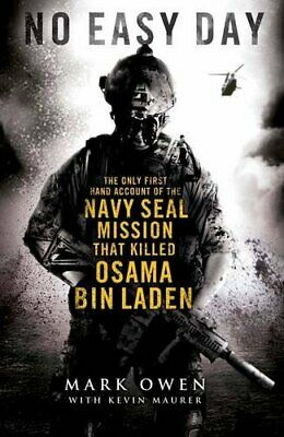 No Easy Day by Mark Owen Book The Fast Free Shipping Antyki i Sztuka