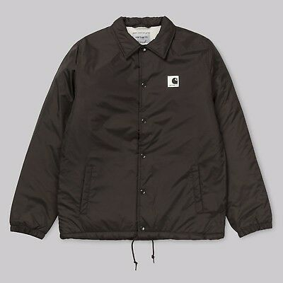 Carhartt Sports Pile Coach Jacket Tobacco Marrone Giacca Vento Impermeabile Way