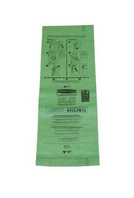 Rubbermaid FG9VULPB12 Replacement Paper Vacuum Bag for 9VUL12 - 10 Pack NEW