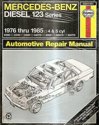 Mercedes-Benz Diesel 123 Series : 1976 to 1985 - 4 & 5cyl (Ppaerback) NEW