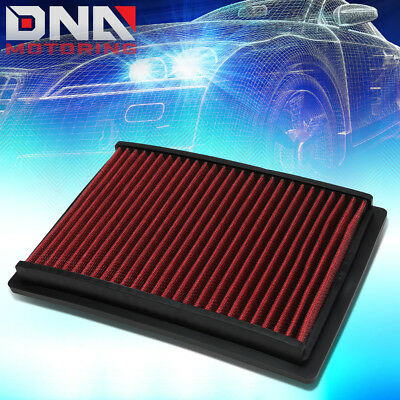 For 12-17 Chevy Sonic T300 1.8L Red Replacement Racing Drop In Air Filter Panel