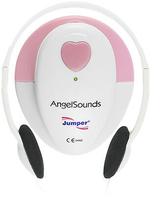 Angelsounds JPD-100S Baby Heart Monitor, Pink - Lightly Used