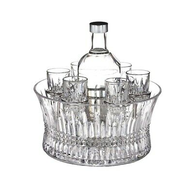 """.waterford Crystal """"Lismore"""" 156508 7 Piece Shot Set, Mint Still Wrapped, Unused"""